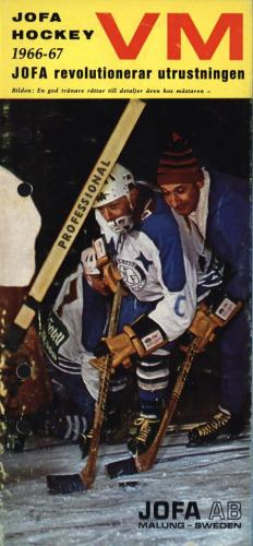 JOFA Oskar Hockey Jofa VM hockey 1966-67 0508