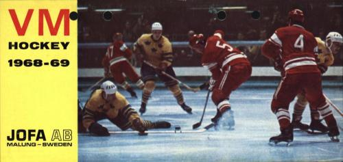 JOFA Oskar Hockey Jofa VM hockey 1968-69 0510