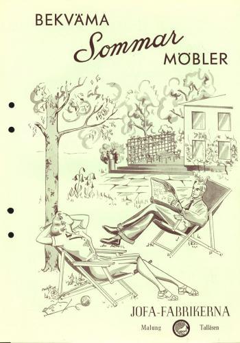 JOFA Oskar Möbler Sommarmöbler 0625