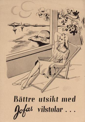 JOFA Oskar Möbler Jofa vilstolar 0671