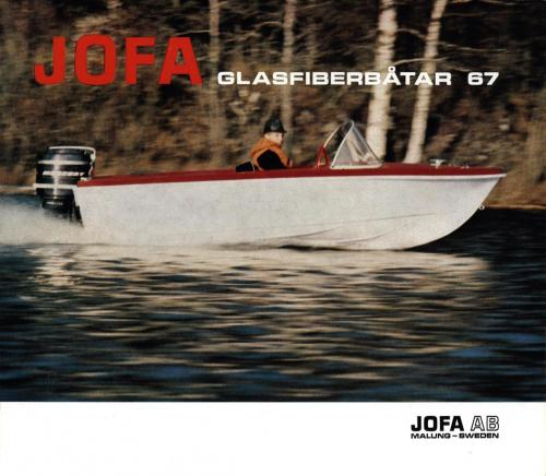 JOFA Oskar Sportbåtar Jofa glasfiberbåtar 1967 0067