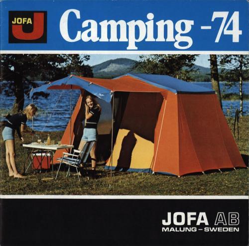 JOFA Volvo Camping & Tält Jofa camping 74 0101
