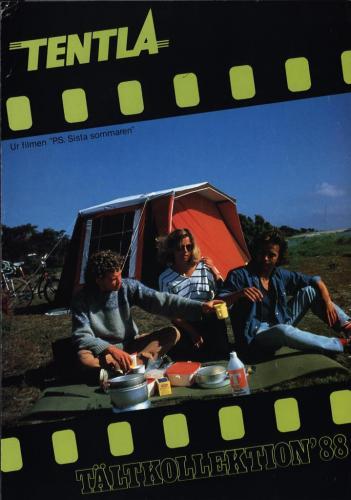 JOFA Volvo Camping & Tält Tentla tältkollektion 1988 0207