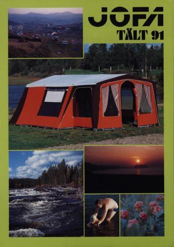 JOFA Volvo Camping & Tält Jofa tält -91 0216
