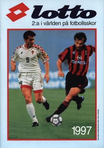 JOFA Volvo Fotboll Lotto 2a i världen på fotbollsskor 1997 0266