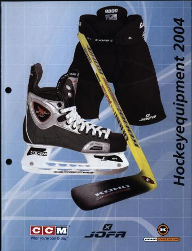 JOFA Volvo Hockey CCM Jofa hockey equipment 2004 0017