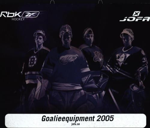 JOFA Volvo Hockey Rbk Golie 2005 CCM 0020
