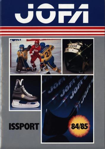 JOFA Volvo Hockey Jofa issport 84-85 0178