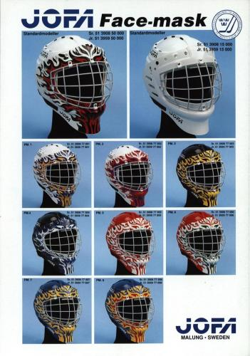 JOFA Volvo Hockey Jofa facemask 0227