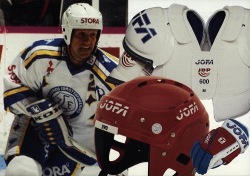 JOFA Volvo Hockey Jofa Vykort uppackning 0240