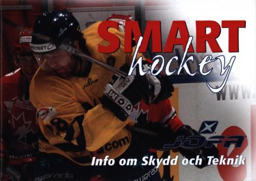 JOFA Volvo Hockey Smart hockey info om skydd och teknik JOFA 0292