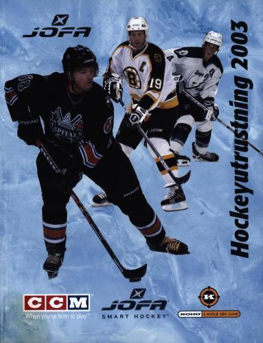 JOFA Volvo Hockey  Jofa ccm hockeyutrustning 2003 0305