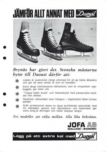 JOFA Volvo Hockey Jofa Daoust skridskor 0492