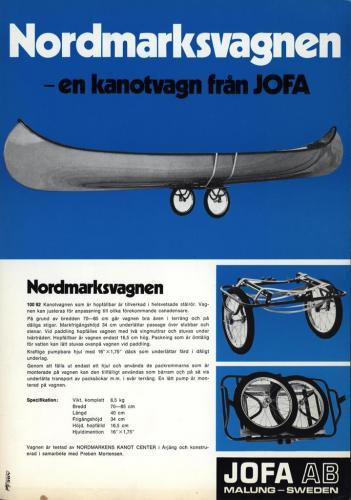 JOFA Volvo Kanoter Nordmarksvagnen jofa 0051