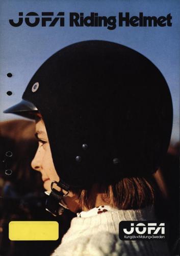 JOFA Volvo Ridsport Jofa riding helmets 0187