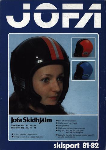 JOFA Volvo Rullskidor Jofa skisport 81-82 0166