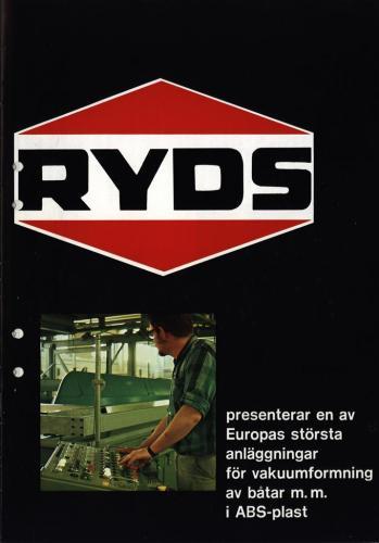 JOFA Volvo Sportbåtar Ryds vakuumformning av båtar 0110