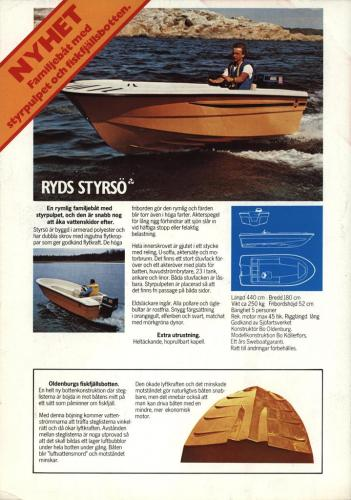 JOFA Volvo Sportbåtar Ryds Styrsö 0135