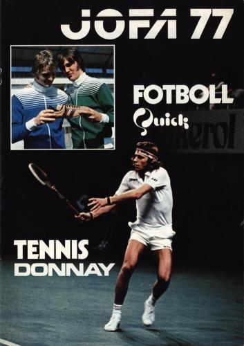 JOFA Volvo Tennis 0699 Tennis 1977