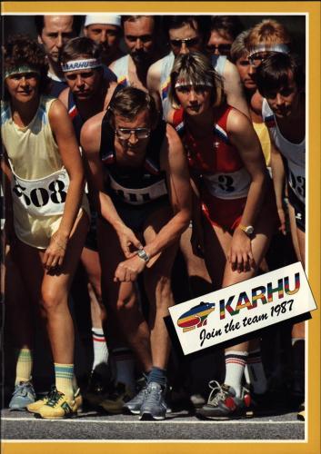 JOFA Volvo Träningskläder & skor Karhu join the team 1987 0033