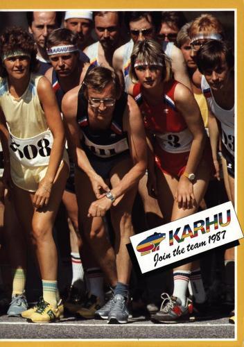 JOFA Volvo Träningskläder & skor Karhu join the team 1987 0205